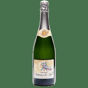 bouteille de champagne Millésime 2009 Comtesse la fée
