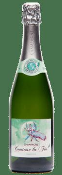 bouteille de champagne tradition comtesse la fée