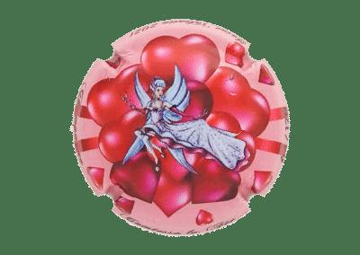 capsule numérotée bouteille de champagne comtesse la fée st valentin