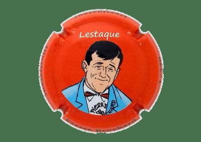 capsule à l'effigie Lestaque numérotée bouteille de champagne comtesse la fée 100 ans Pierre Brochard